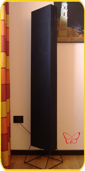 piantana moderna rettangolare calp